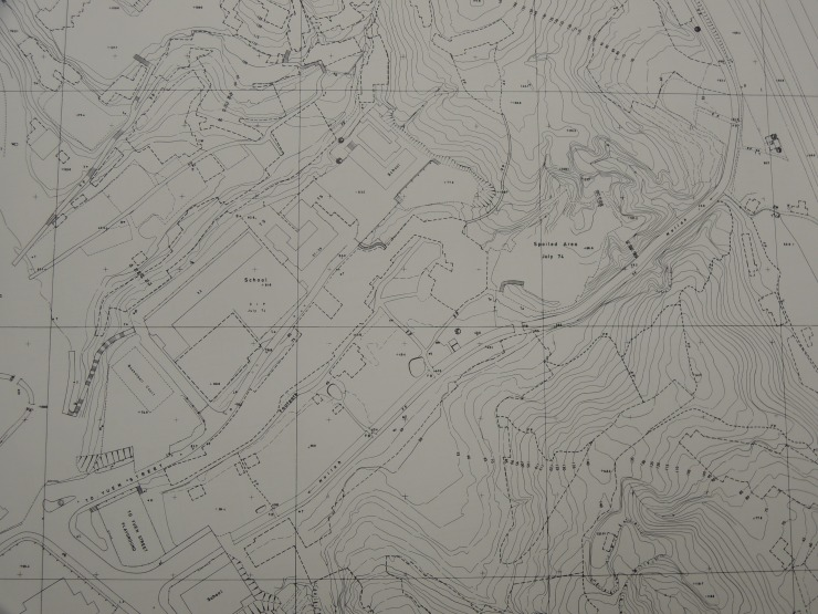 Map_香島(桃源街)1974